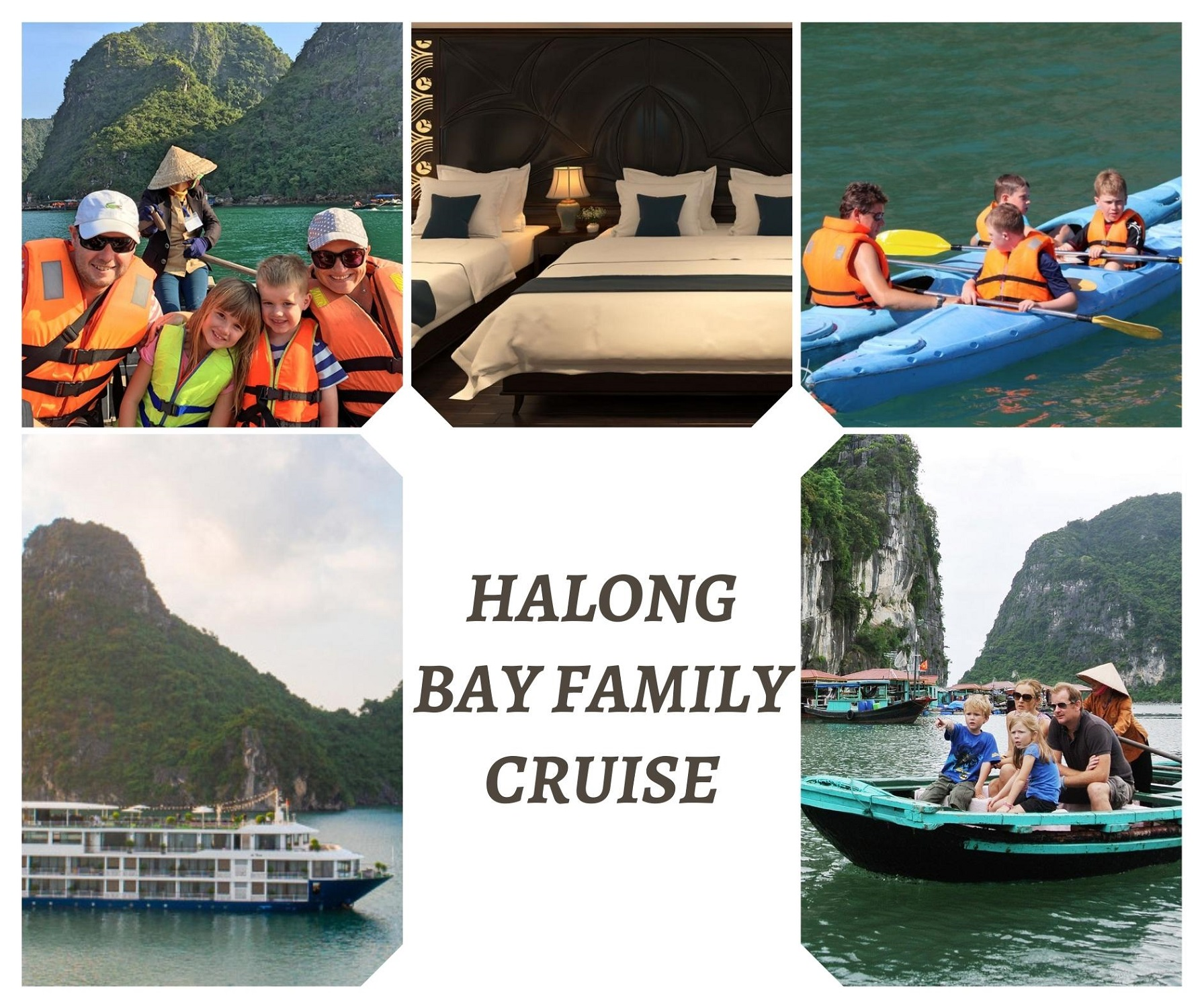 Best family cruise in Halong Bay