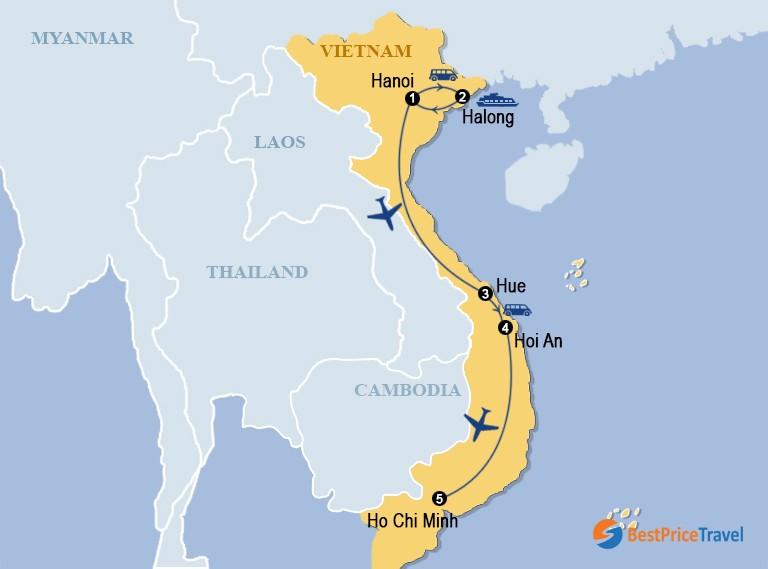 Complete Vietnam Tour Itinerary