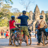 Full day temple biking tour - with lunch box