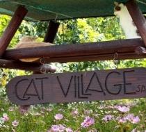 Cat Cat Village Sign