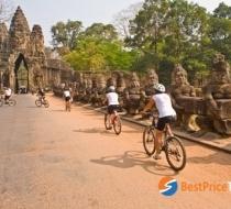 Bici Tour Siem Reap Tour Cambogia