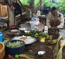 Livelihood Work Of A Household In Baray Village