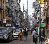 Street In Yangon