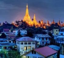 Yangon City In Myanmar