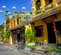 The Street View Of Hoi An