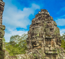 Large Bayon Temple