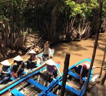 Boat Trip In Mekong