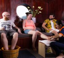 Amazing Sails Foot Massage