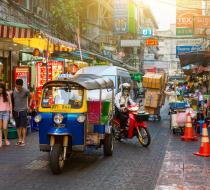 Street Bangkok Thailand