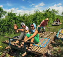 Battambang Bamboo Train L
