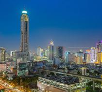 Baiyoke Sky Tower In Bangkok