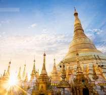Shwedagon Sun Set