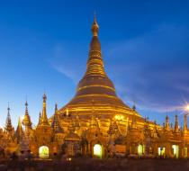 Shwedagon Sunset