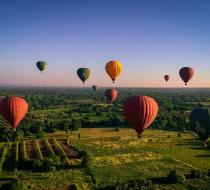 Bagan Hot Air Balloon3