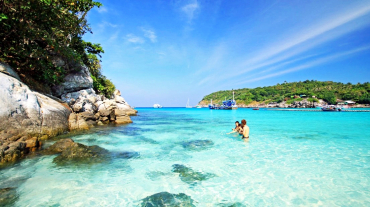 Coral Island & Racha Island by Speedboat Full day