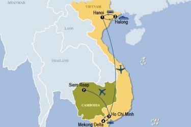 Vietnam And Cambodia At A Glance 9 Days