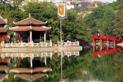 Hanoi Half Day City Tour in the morning