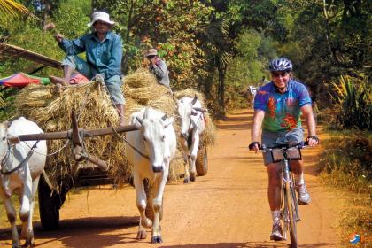 Cambodia by bike 6 days