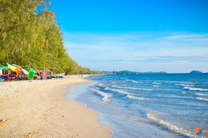 Cambodia Beach Vacation 8 days