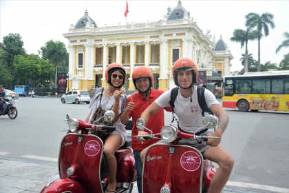 Hanoi City And Countryside Vespa Tours Full Day