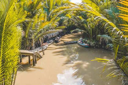 Luxury Mekong Delta Speedboat Tour Full day
