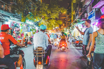 Saigon Night Life Tour by Motorbike