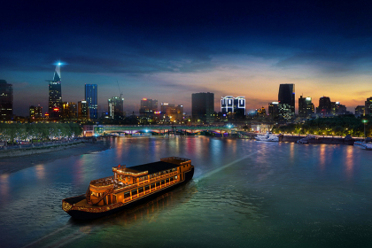 Luxury Dinner Cruise on Saigon River