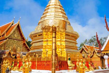 Chiang Mai City & Template with Doi Suthep half day