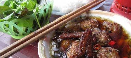 Noodles & grilled pork
