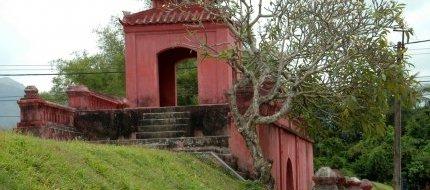 Citadel Gate At Dien Khanh