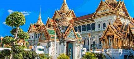 Admire The Grand Palace In Bangkok