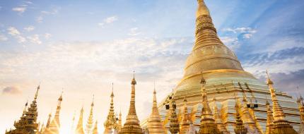 Shwedagon Sun Set