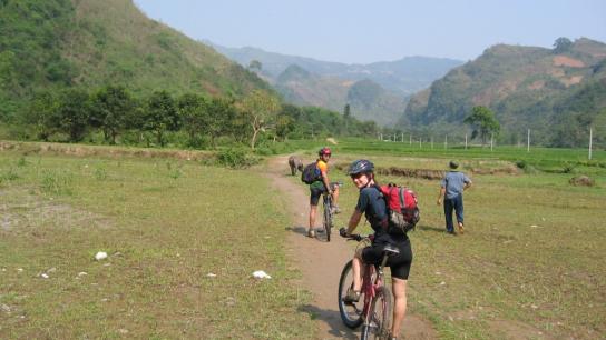 Bike & Raft from Dalat to Nha Trang Full day - No 3