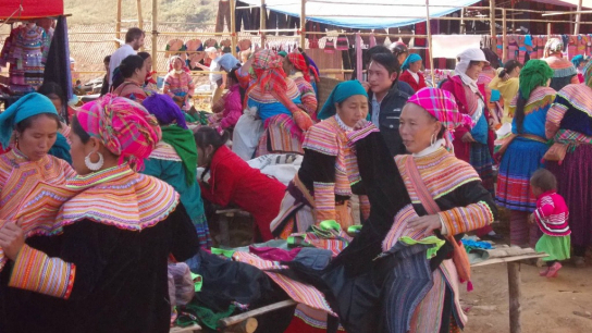 Sapa Ethnic Market Full day