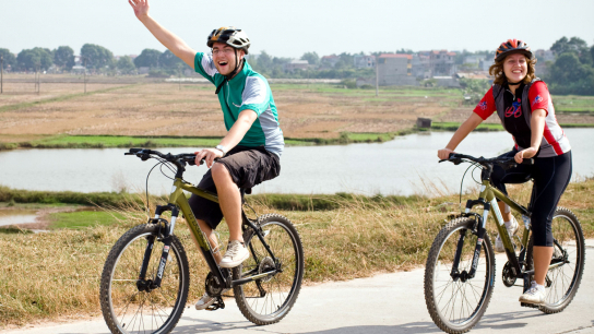 Vietnam on Wheels 16 days - No 1 Cycling