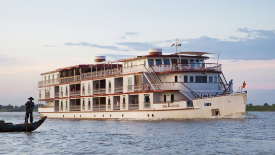 Heritage Line Jahan Cruise 11 days - Untouched Mekong River - No 11 Luxury