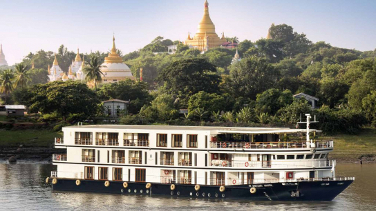 Sanctuary Ananda Cruise 4 Days 3 Nights - Ayeyarwady River - No 2 Luxury