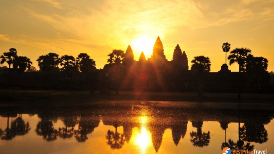 Sunrise at Angkor by Tuktuk & Elephant Ride