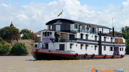 Irrawaddy Princess Cruise 2 days - No 11 Luxury