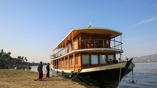 RV Mingun Cruise 5 days - Journey to the North - No 13 Luxury