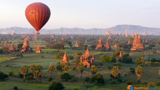Hot Air Balloon Ride over Bagan - No 7