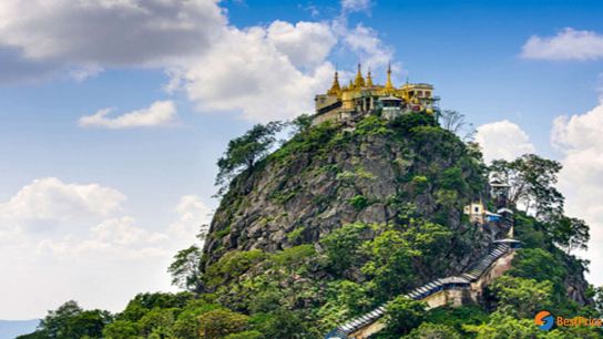 Explore Mount Popa Hafl day - No 2