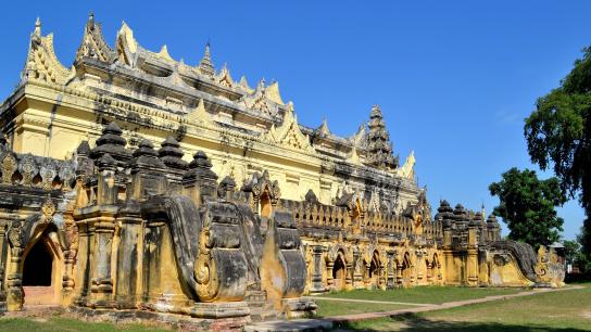 Sagaing - Mingun Sightseeing Full Day - No 4
