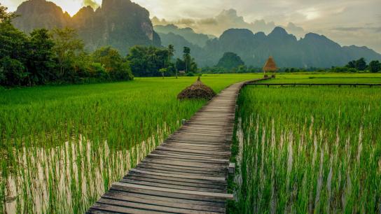 Classic Laos Biking Tours 10 days - No 14 Adventure