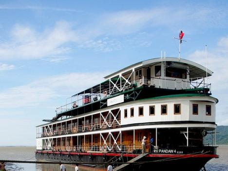 Pandaw Cruises Burma - The Irrawaddy 15 days