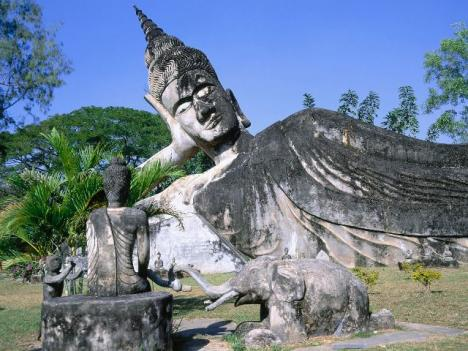Vientiane - Buddha Park Ful Day