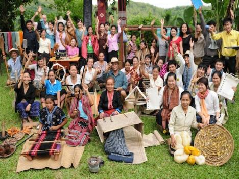 Luang Prabang - Weaving Full day
