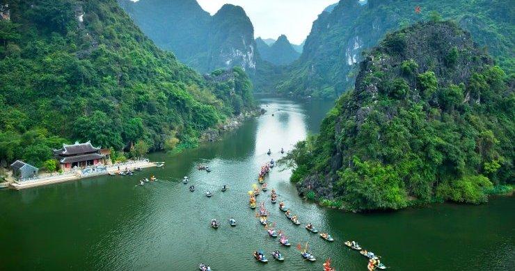Ninh Binh Vietnam May 9 2