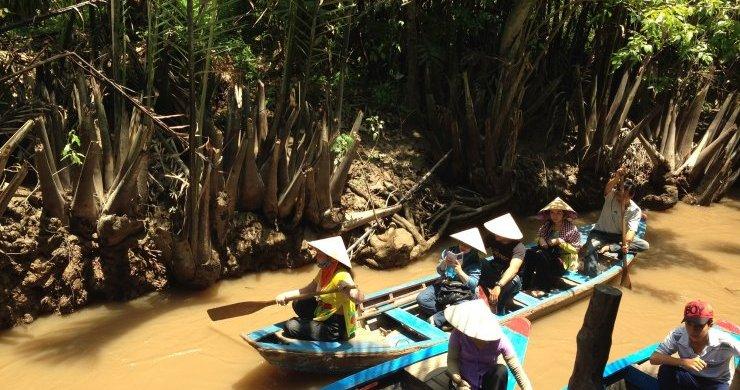 Boat trip in Mekong Delta