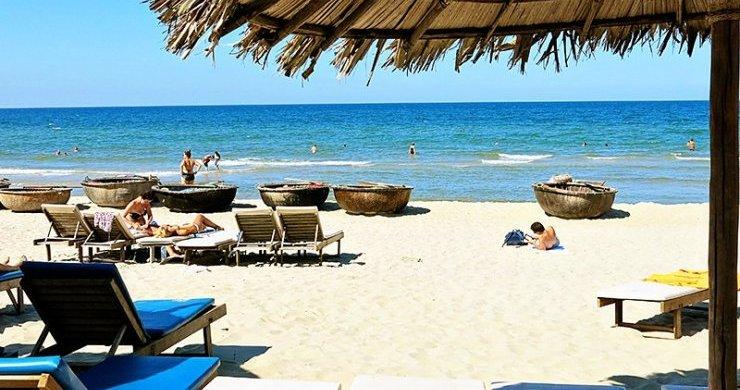 Relaxing On Hoi An Beach